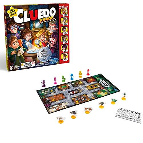 Hasbro C1293100 - Spiele Cluedo Junior Familienspiel