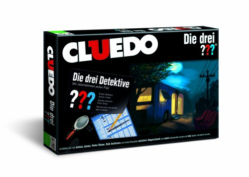 Cluedo Die drei Fragezeichen - Das Brettspiel