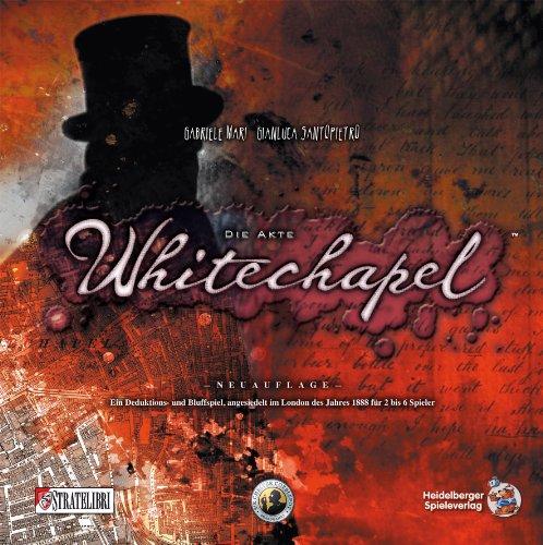 Heidelberger HE537 - Die Akte Whitechapel, Überarbeitete Auflage, Brettspiel