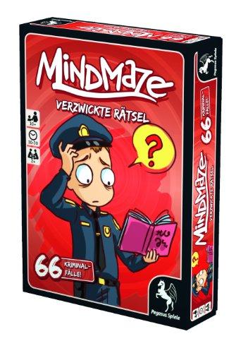 Pegasus Spiele 18252G - MindMaze Verzwickte Rätsel - 66 Kriminalfälle - 2