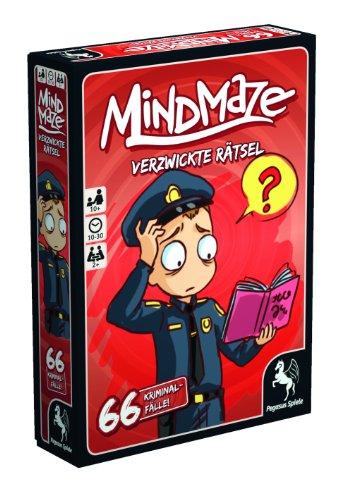 Pegasus Spiele 18252G - MindMaze Verzwickte Rätsel - 66 Kriminalfälle - 3