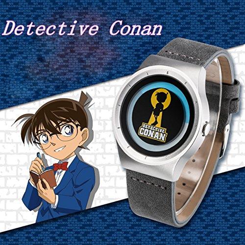 SUNKEE Detektiv Conan magische wasserdichte Uhr