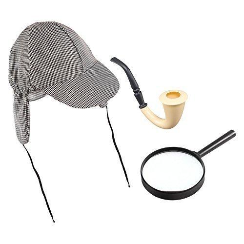 Sherlock-Holmes-Mütze, Kostüm-Zubehör