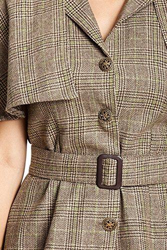 Kostümplanet® Detektiv Kostüm Damen mit Detektiv-Mütze sexy Detektivkostüm Damenkostüm Dedektiv Größe 36/38 - 7
