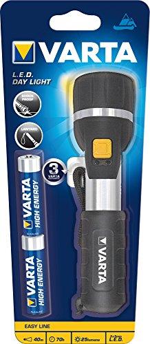 Varta 3x 5mm LED Day Light Taschenlampen Flashlight Leuchte Lampe Arbeitsleuchte Taschenleuchte Taschenlicht für Haushalt, Camping, Angeln, Garage, Notfall, Stromausfall, Outdoor - 2