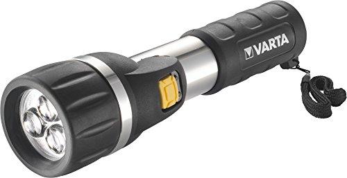 Varta 3x 5mm LED Day Light Taschenlampen Flashlight Leuchte Lampe Arbeitsleuchte Taschenleuchte Taschenlicht für Haushalt, Camping, Angeln, Garage, Notfall, Stromausfall, Outdoor - 3