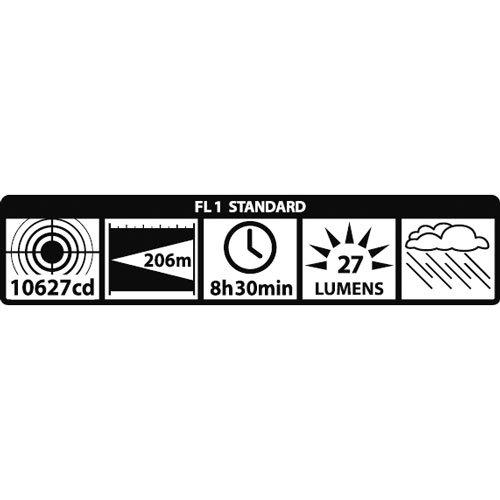 Mag-Lite S2D016 2D-Cell Stab-Taschenlampe 25 cm schwarz für 2 Mono-Batterien - 3