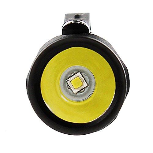 Superhelle Mini Taschenlampe, CREE LED Mini Taschenlampe IPX8 Wasserdicht Mini-Taschenlampe, 500 Lumen mit 5 Modus EDC Mini Handlampe LED Camping Handlampe Geeignet für AA oder 14500 Akku (Nicht Enthalten), TG06 Upgrade Version (TG06S) - 6