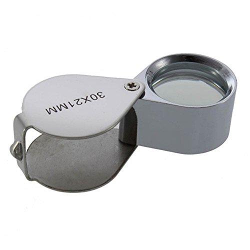DIGIFLEX Vergrößerungsglas für Juweliere 30fach mit 21-mm-Glas - 4