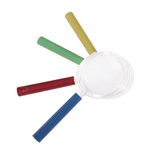 NUOLUX 4 Stück Kinder Lupe Spielzeug Vergrößerungsglas Kunststoff Set - 3