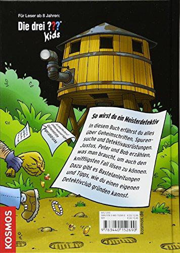 Die drei ??? Kids, Detektivhandbuch: Die besten Tricks von Justus, Peter und Bob - 2