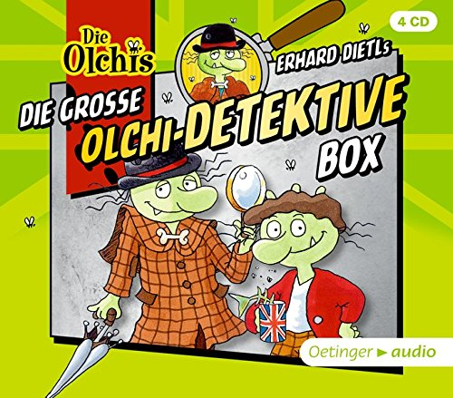 Die große Olchi-Detektive-Box (4CD): Hörspielbox