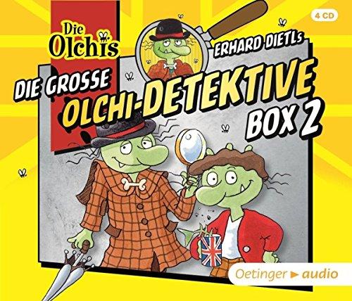 Die große Olchi-Detektive Box 2 (4CD): Hörspiele, ca. 178 min.