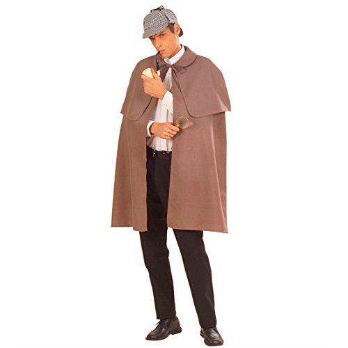Detektiv Umhang Sherlock Holmes Kostüm
