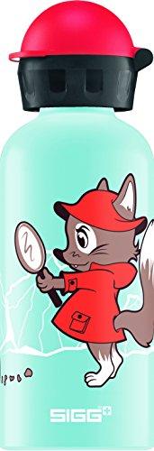 Sigg Uni Detective Fox Trinkflasche, Mehrfarbig, 0.4 L