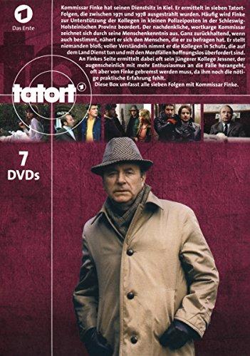 Tatort - Kommissar Finke ermittelt in Kiel [7 DVDs] - 2