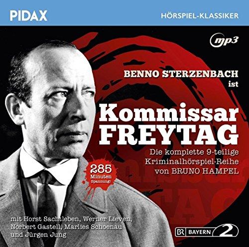 Kommissar Freytag, komplette Kriminalhörspiel-Reihe