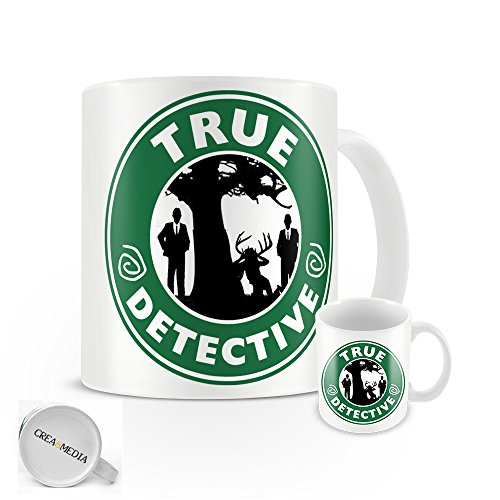 True Detective Starbucks Tasse inspirée de la série Tv-Coffret