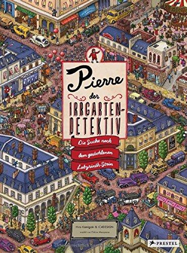 Pierre, der Irrgarten-Detektiv: