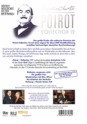 Agatha Christie - Poirot Collection 12 [5 DVDs] - 2