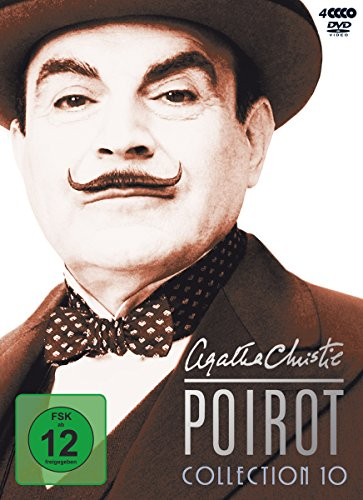 Agatha Christie - Poirot Collection 10 [4 DVDs]