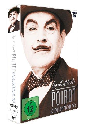 Agatha Christie - Poirot Collection 10 [4 DVDs] - 2
