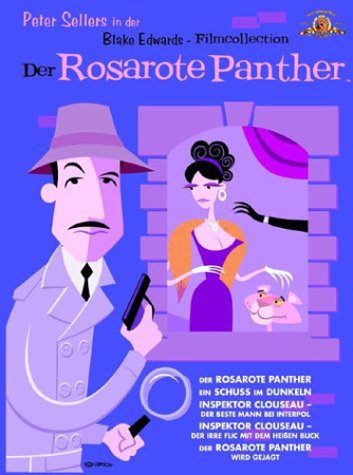 Der Rosarote Panther - Blake Edwards Filmcollection [6 DVDs]