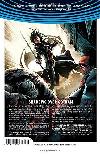 Batman: Detective Comics Vol. 3: League of Shadows (Rebirth) (Batman: Detective Comics Universe Rebirth) - 2