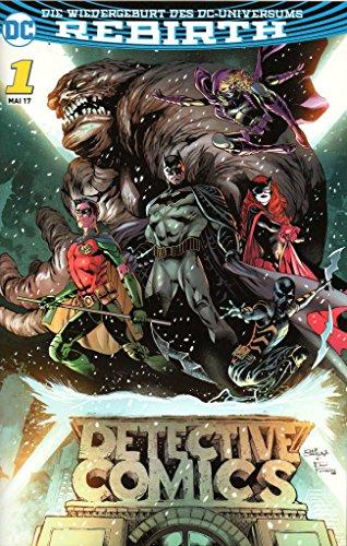DC Comics BATMAN DETECTIVE COMICS (Rebirth-Reihe) # 1: Angriff der Batman-Armee - Variant-Cover A