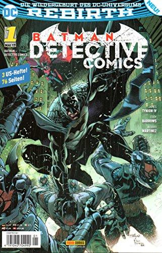 DC Comics BATMAN DETECTIVE COMICS (Rebirth-Reihe) # 1: Angriff der Batman-Armee