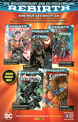 DC Comics BATMAN DETECTIVE COMICS (Rebirth-Reihe) # 1: Angriff der Batman-Armee - 2
