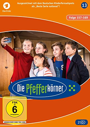 Die Pfefferkörner - Staffel 13 (Folge 157-169) [2 DVDs]