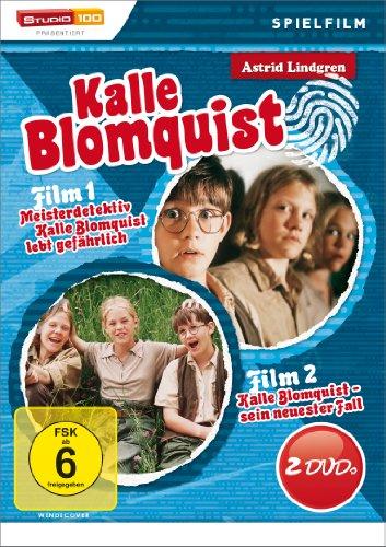 Astrid Lindgren: Kalle Blomquist: Kalle Blomquist lebt gefährlich [2 DVDs]