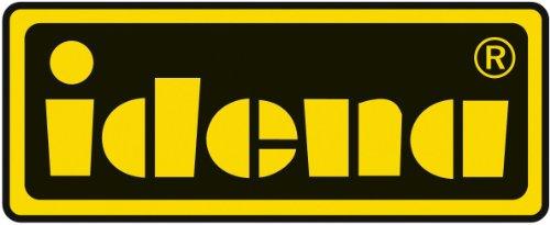 Idena 209281 - Notizbuch DIN A5, 192 Seiten, 80 g/m², kariert, schwarz - 2
