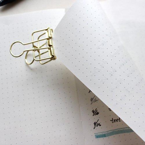 Dotted Bullet Journal / Notizbuch - Lemome A5 Hardcover Dot Grid Notizbuch mit Stiftschleife - Premium Dickes Papier - Page Dividers Geschenke, 180 Seiten, 8.4 x 5.7 inch - 4