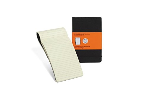 Moleskine Reporter-Notizblock Pocket, Softcover, liniert, schwarz - 2