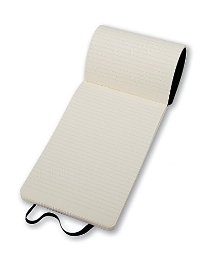 Moleskine Reporter-Notizblock Pocket, Softcover, liniert, schwarz - 6