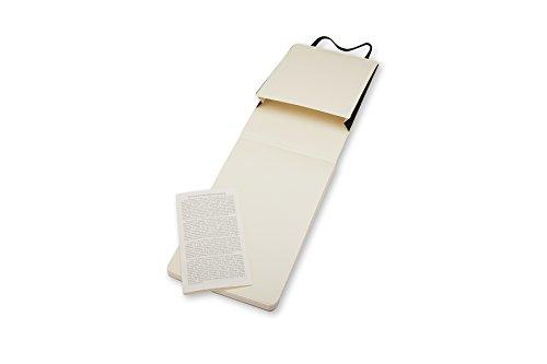 Moleskine Reporter-Notizblock Pocket, Softcover, blanko, schwarz - 4