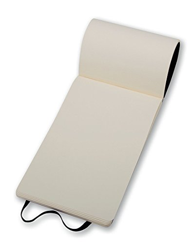 Moleskine Reporter-Notizblock Pocket, Softcover, blanko, schwarz - 6