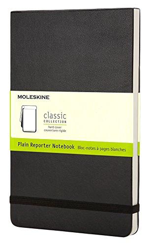 Moleskine Repoerter-Notizblock Pocket, Hardcover, blanko, schwarz