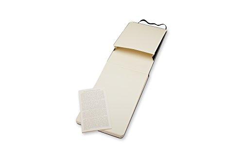 Moleskine Repoerter-Notizblock Pocket, Hardcover, blanko, schwarz - 4