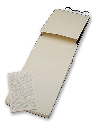 Moleskine Repoerter-Notizblock Pocket, Hardcover, blanko, schwarz - 5