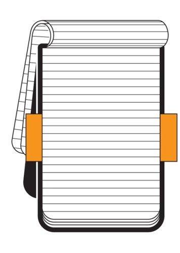 Moleskine Reporter-Notizblock Large, Hardcover, liniert, schwarz - 2