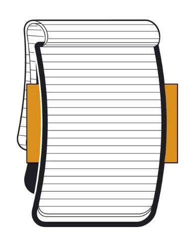 Moleskine Reporter-Notizblock Large, Softcover, liniert, schwarz - 3