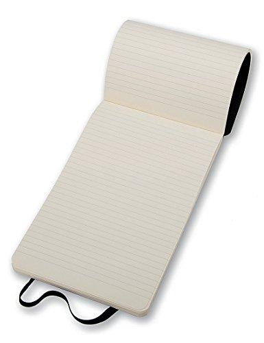 Moleskine Reporter-Notizblock Large, Softcover, liniert, schwarz - 6