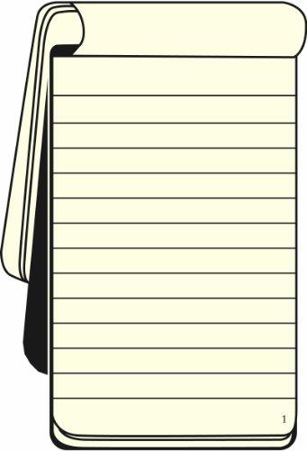 Leuchtturm1917 327986 Reporterblock Pocket (A6, Lineatur: liniert, weitere Lineaturen auswählbar) schwarz - 3