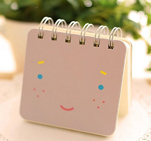 wicemoon Cartoon Notebook tragbar Notizblock Creative Spirale Reporter Book Süßer kleiner PocketBook Memo Book 3 in 1 Set - 3